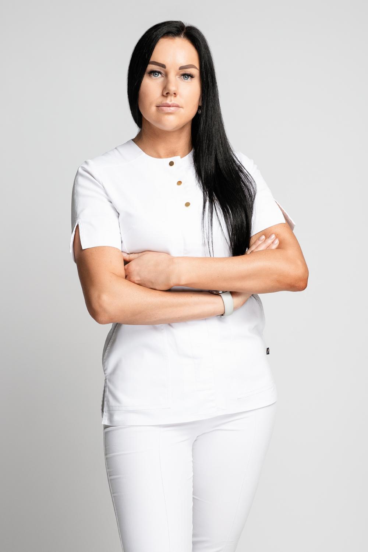 Indrė Šeflerienė - Plastikos chirurgo asistentė, operacinės slaugytoja