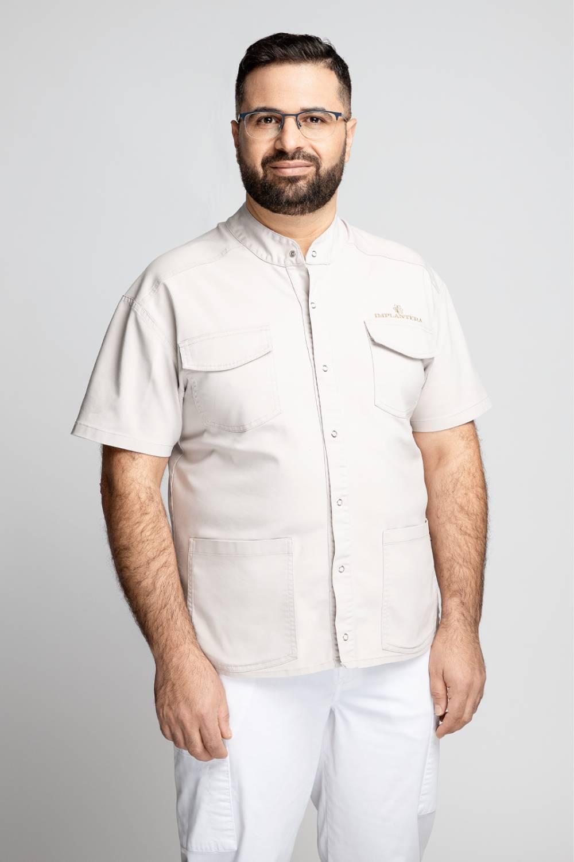 Bahaa Al Arbied - Gyd. od. burnos chirurgas